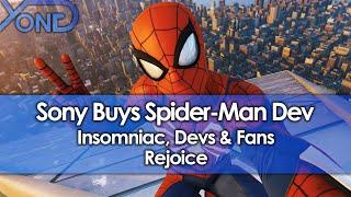 Sony Buys Spider-Man & Ratchet and Clank Dev Insomniac, Devs & Fans Rejoice