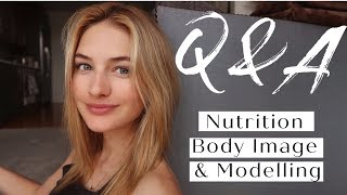 Spring Q + A | My Nutrition, Body Image, Love Life & Fashion Modeling| Sanne Vloet