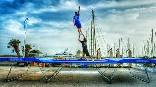 World's Best Trampoline Tricks! in 4k! Eurotramp Thumbnail