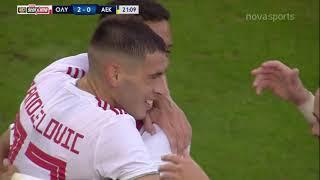 Ολυμπιακός - ΑΕΚ: 3-0