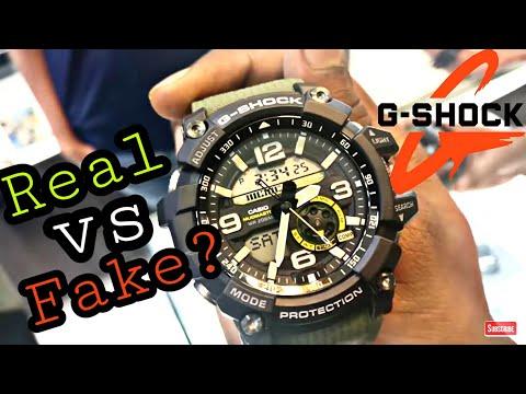 How To Identify FAKE G-SHOCK Watch