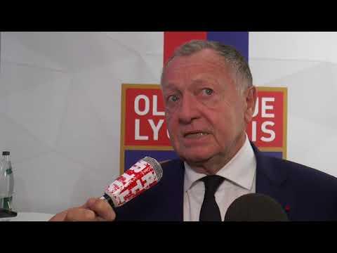 OL : Aulas réagit à l'intérêt du Barça pour Aouar