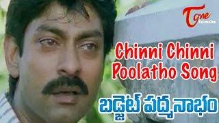 Budget Padmanabham Movie Songs | Chinni Chinni Poolatho Video Song | Jagapathi Babu, Ramya Krishna