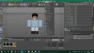 How to bend limbs in Cinema 4D   ROBLOX