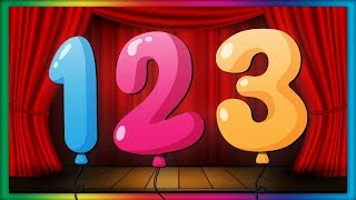 Learn Numbers & Counting | Count to 10 | ABC Baby Songs - Counting 123