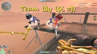 [ Bình luận CF ] Những tình huống hài hước và lầy lội cùng team Youtube CF - Quang Brave