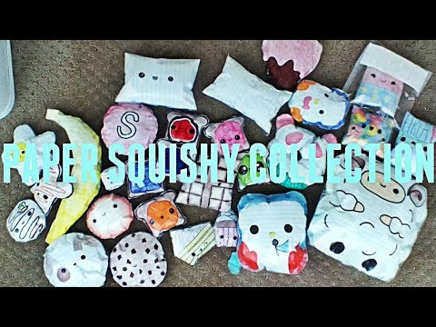 PAPER SQUISHY COLLECTION!!!