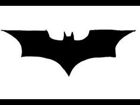 how to draw batman logo youtube rh youtube com cool batman logo drawings batman logo drawing step by step