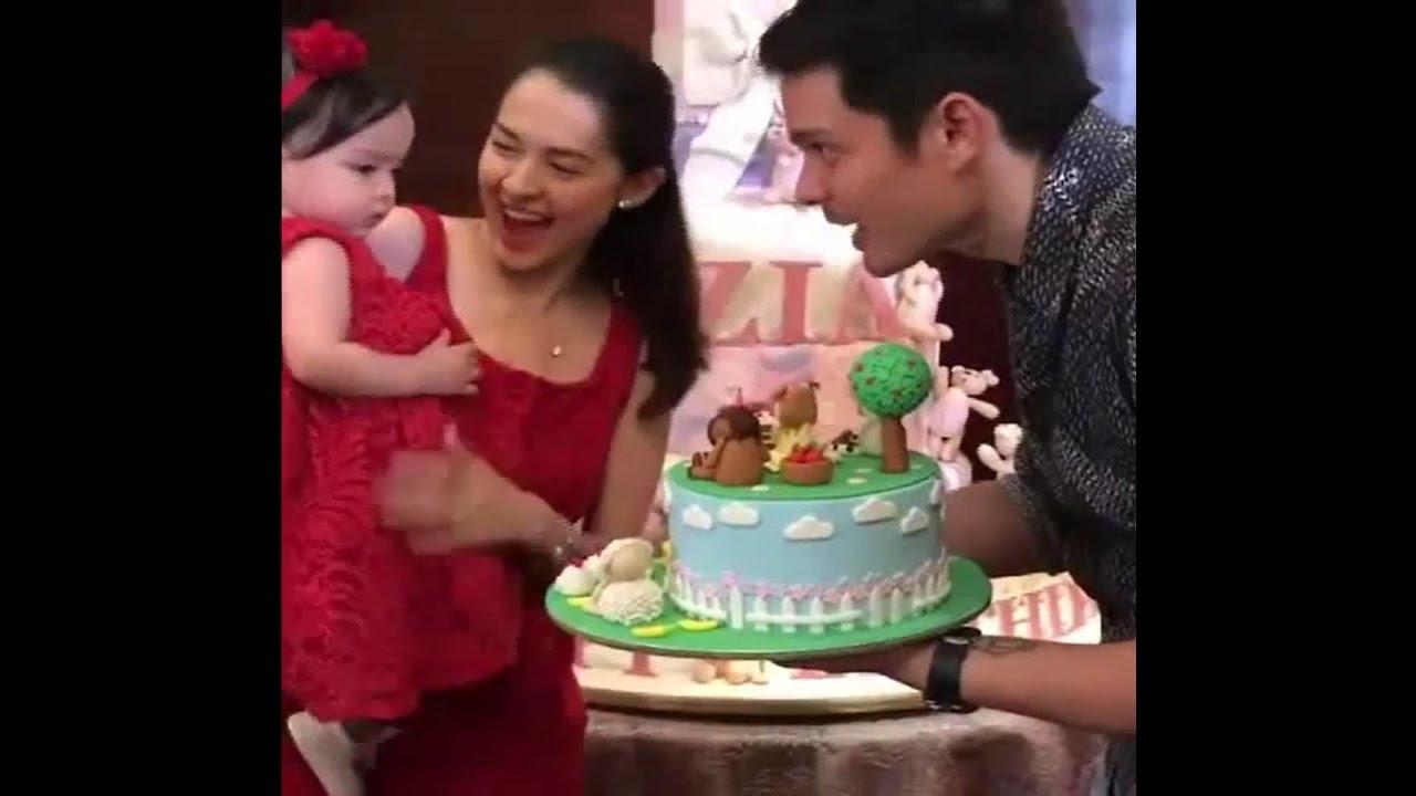 Zia Dantes 1st Birthday Youtube