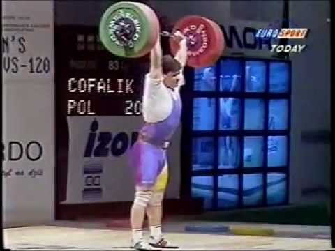 The Amazing Pyrros Dimas, Clean and Jerk 1995