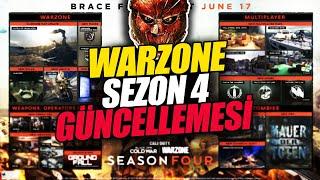 Warzone SEZON 4 Güncellemesi (Kırmızı Kapı, Yeni silahlar, operatör)   Cod MW Warzone Türkçe Rehber
