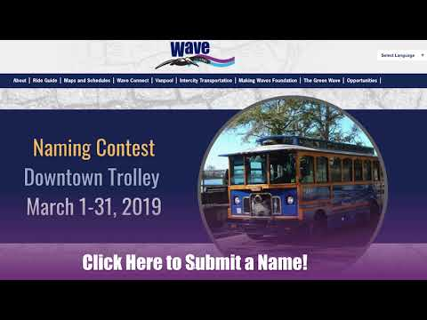 Bus, Shuttle & Trolley Transportation - Wave Transit