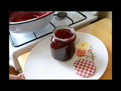 Варим Малиновое Варенье! Все секреты Варки Малинового Варенья! Cook Raspberry Jam