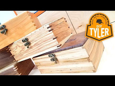 MAGIC of Joinery | 3 Similar Boxes with 3 Unique Woodworking Joints
