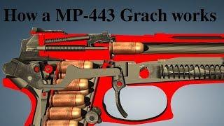 How a MP-443 Grach works