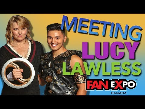 MEETING LUCY LAWLESS!!!
