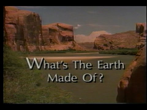 National Geographic - What Is The Earth Made Of? (1995) (VHS)
