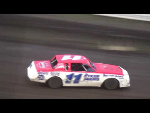 IMCA Stock Car Heats Southern Iowa Speedway 4/26/17
