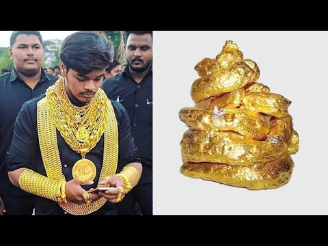 15 Weirdest Things Made Out Of Gold!