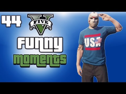 GTA 5 Online Funny Moments Ep. 44 (Flying...
