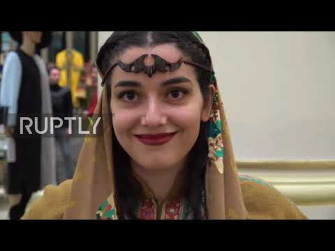 Iran: Augmented reality fashion hits Tehran catwalk