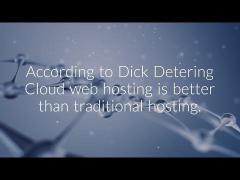 Cloud web hosting.