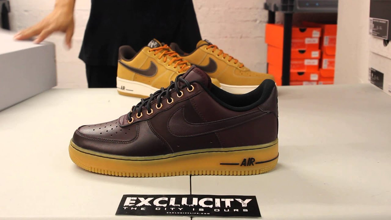 be4f1b3a0d22 Nike Air Force 1 Low - Deep Burgandy - Unboxing Video at Exclucity ...