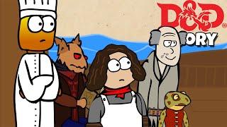 Los Chefs que Arruinó mi Juego de D&D Historia (Animado)