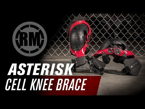 Asterisk Cell Motocross Knee Brace