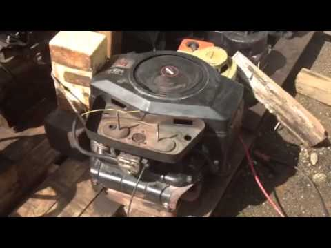 First Start 16 Hp Opposed Twin Briggs And Stratton