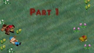 Harvest Moon: Back to Nature [Walkthrough] [Pt.1] [Beginning - 4th Spring Year 1] [HD] [English]