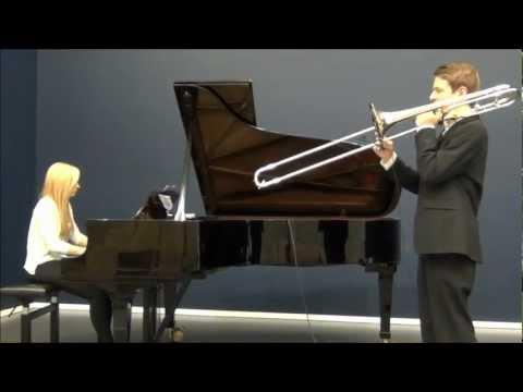 Jugend Musiziert 2012 - Sang till Lotta - Jan Sandström - Trombone & Piano