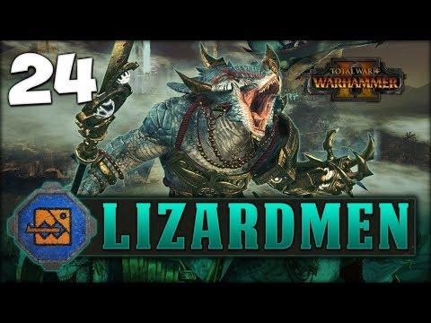 SUMMONING CHAOS! Total War: Warhammer 2 - Lizardmen Campaign - Kroq-Gar #24