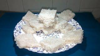 नारळाची वडी | Naralachi Vadi | Coconut Barfi | Quick & Easy Indian Sweet Recipe in Marathi.