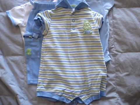 Akissybaby Carter S Baby Boys Clothes 3 6 Month Lot Ebay Youtube