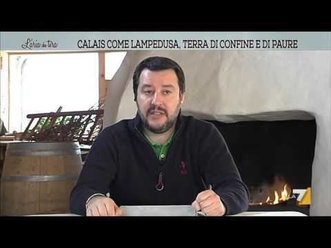 Salvini e il convegno ENF, con Marine LePen