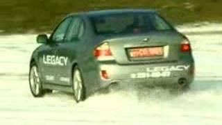 Тест Драйв Subaru Legacy