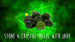 The magic behind Green JADE Crystal of Love |  Prosperity | Healing | Manifestation