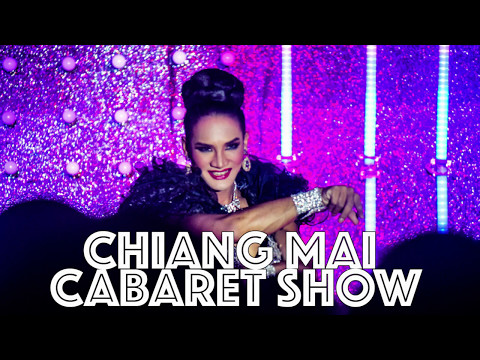 Kathoey cabaret show in Chiang Mai- 5