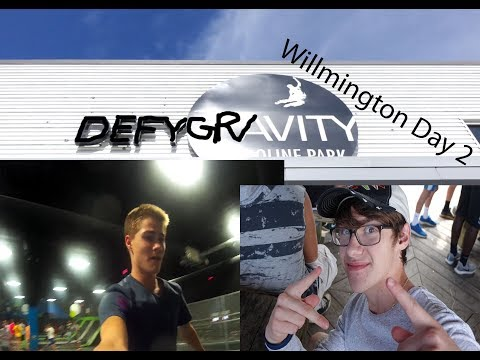 Defying gravity in Willmington!!!