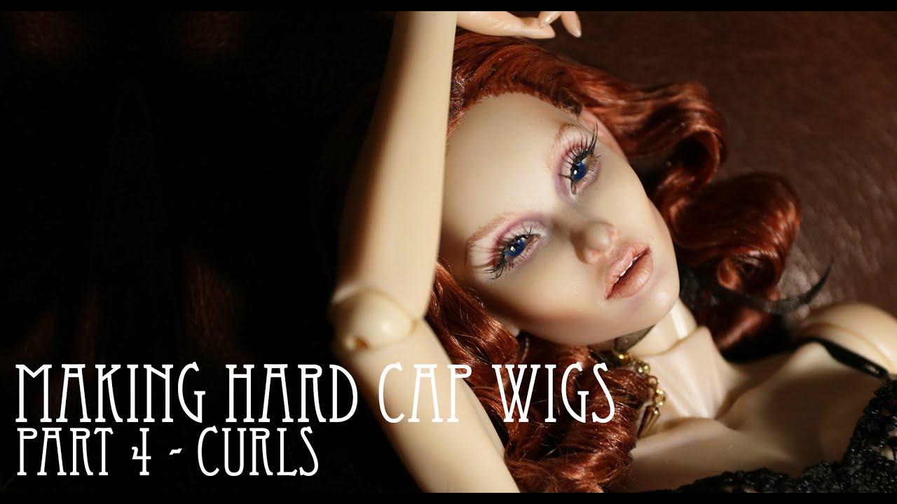MAKING HARD CAP WIGS - PART 4 - CURLS