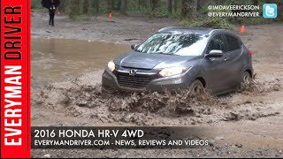 Off-Road Drive: 2016 Honda HR-V 4WD on Everyman Driver