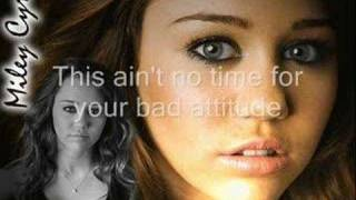 Dont Walk Away - Miley Cyrus WITH LYRICS