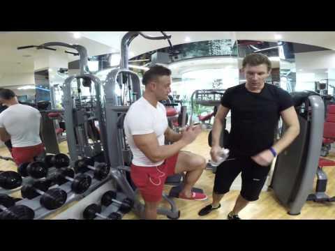 Базовые упражнения для всех групп мышц. Парни!