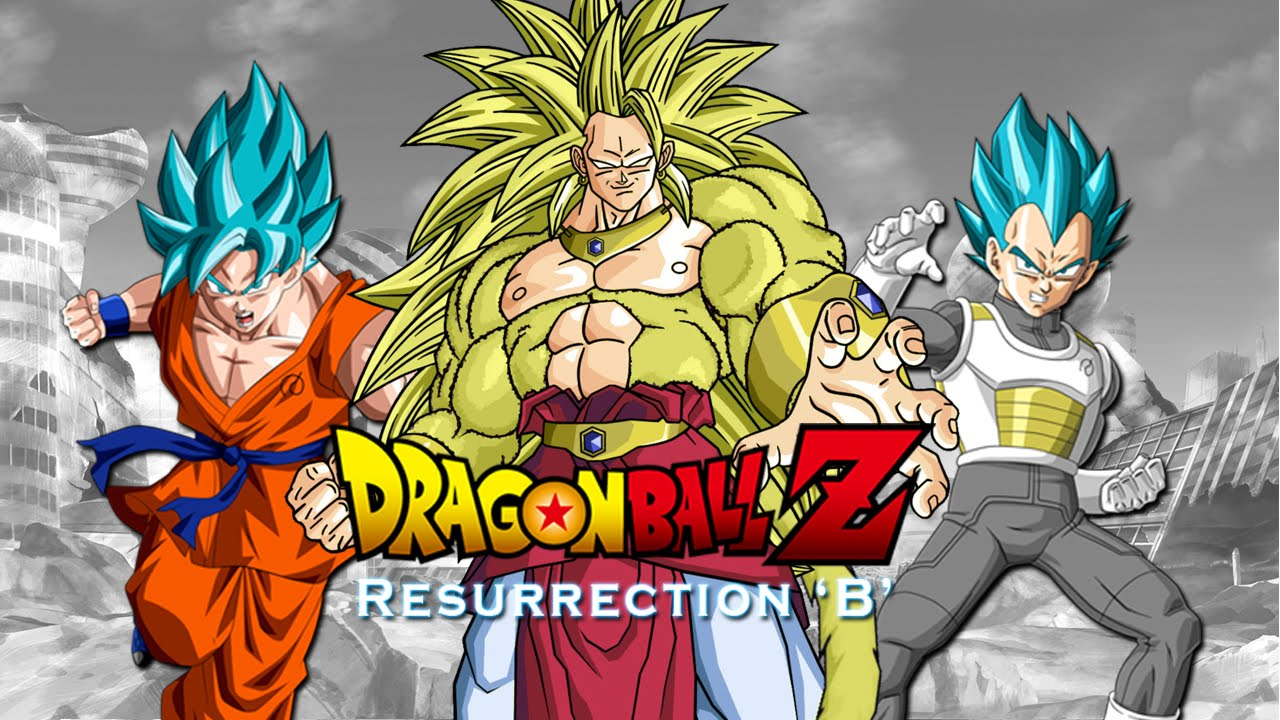 dragon ball z resurrection b trailer promo hd youtube - Dragon B