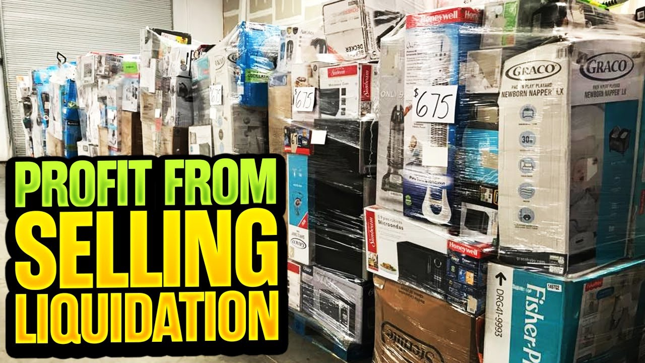 How Much Can You Make Reselling a Liquidation Pallet on eBay and Poshmark