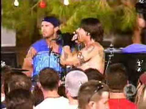 Red Hot Chili Peppers private show 45 The Zephyr Song, Cant Stop
