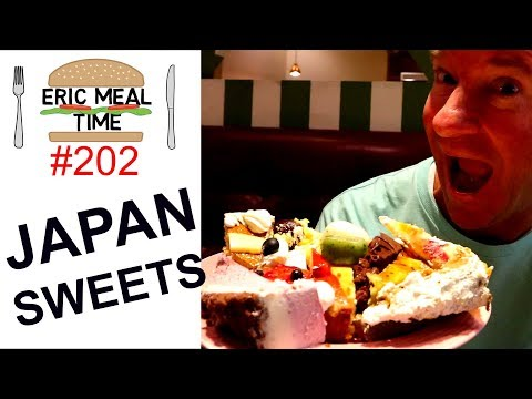 Sweets in Japan All-You-Can-Eat - Eric Meal Time 202