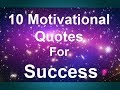 10 motivational quotes of success by great men for success