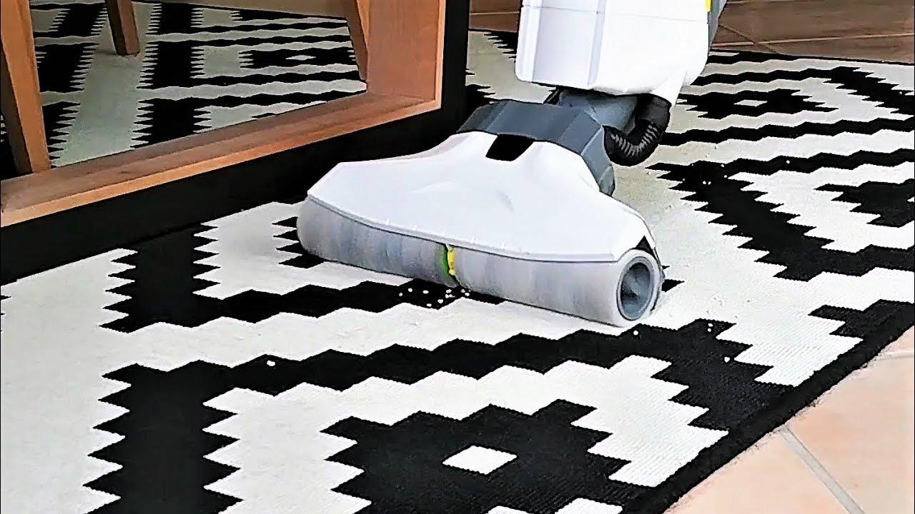 mit k rcher fc 5 einen teppich saugen geht das test. Black Bedroom Furniture Sets. Home Design Ideas